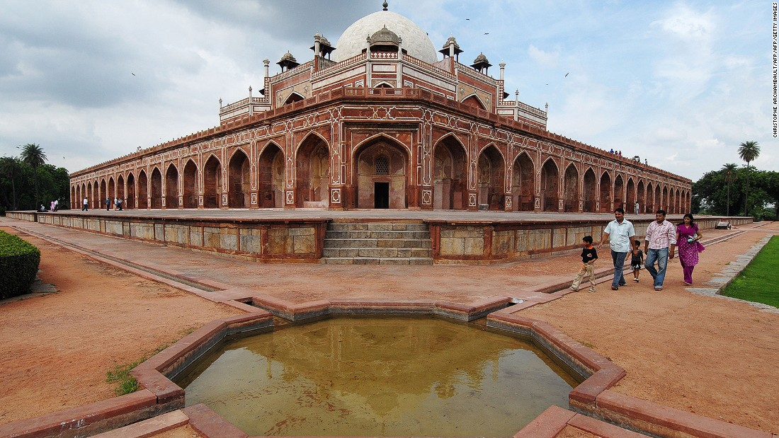 <strong>Humayun's Tomb, New Delhi: </strong>Declared a World Heritage Site in 1993, the tomb is the final resting place of the 16th century Mughal Emperor Humayun. It was India's first garden-tomb and inspired the building of other grand mausoleums in the country including the Taj Mahal.