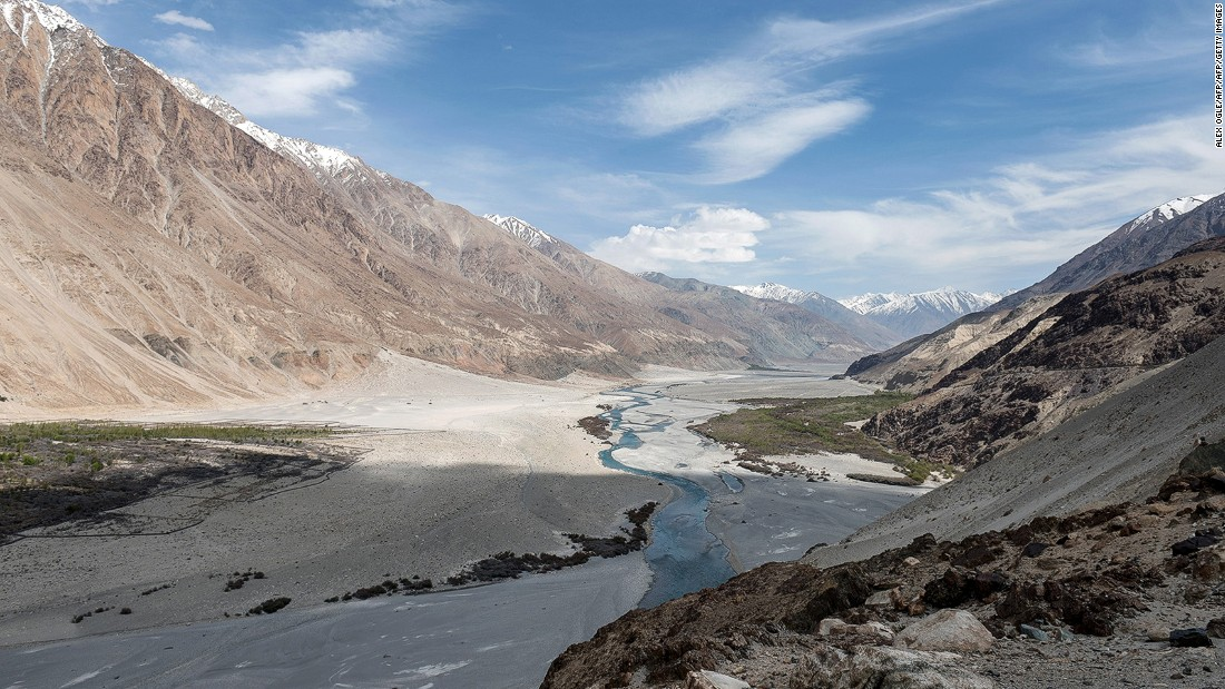 "<strong>Nubra Valley, Ladakh:</strong> One of India's most breathtaking areas, Ladakh is home to towering mountains and deep valleys. The Shyok River cuts through Nubra Valley, which lies in the northernmost part of Ladakh. <a href=""/2016/01/24/travel/bara-bangal-remote-himalayan-village/index.html"" target=""_blank"">READ: Bara Bangal: A Himalayan village on the path of Alexander the Great</a>"