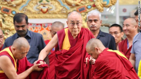 The Dalai Lama presided over the Emory-Tibet symposium of Scholars and Scientists at Drepung Monastic University in December.