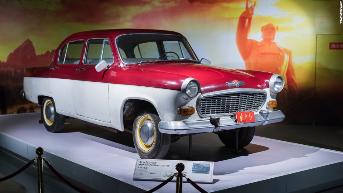 "The 1950s Dongfanghong's colorful hue and chirpy design is in contrast to the Hongqis'. Luo says that only a few dozen of them were made because in the late 1950s Beijing's mayor deemed them too ""bourgeois"" and ""western"" looking, calling a halt to their production."