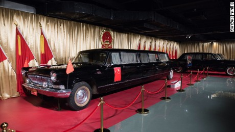 "The ""longest"" stretch limo made for Mao Zedong."