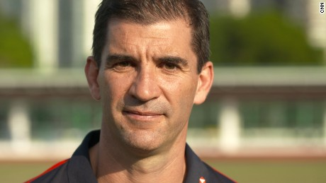 Gareth Baber: Skills training with Hong Kong women's sevens team