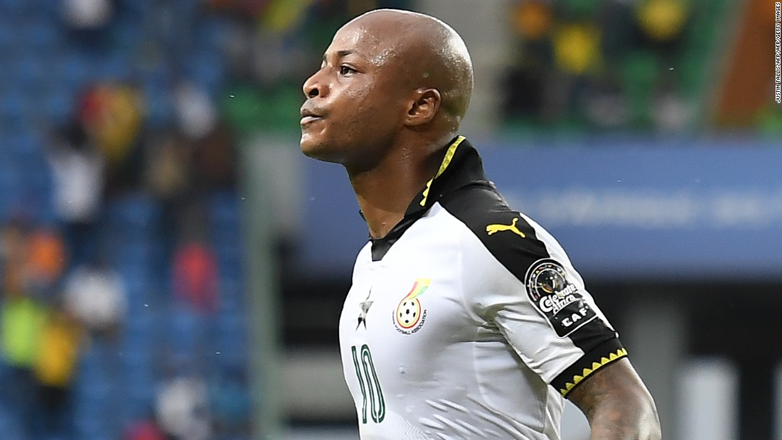 Andre Ayew's penalty was all that separated the sides following Isaac Isinde's foul on Asamoah Gyan inside the box.