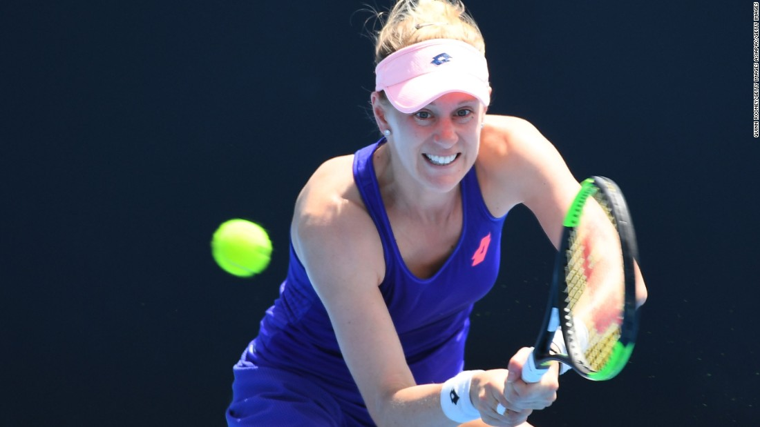 Alison Riske made the third round of the Australian Open Tuesday after beating China's Zhang Shuai 7-6 (9-7) 4-6 6-1. The 26-year-old from Pittsburgh won her second straight grand slam match in Melbourne, having lost the first 10 at major championships in her career.