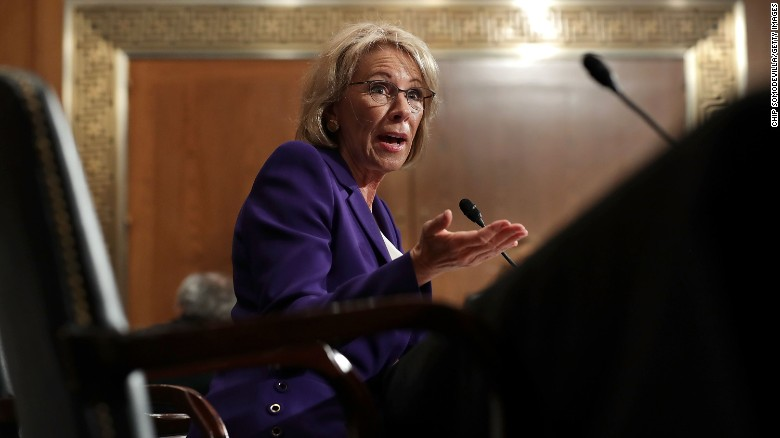 Dems portray education pick as unqualified