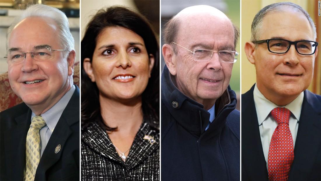 Transition Tracker: Picking apart Trump's Cabinet picks