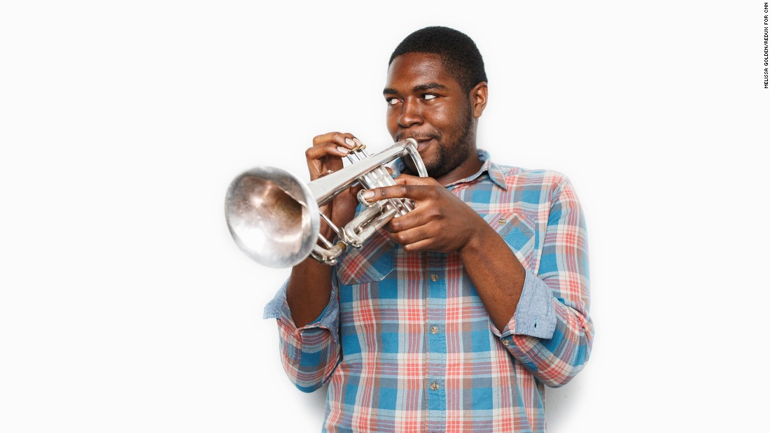 """It's really amazing. Who could've thought in this short amount of time that you could come from nothing to all of this."" -- Darnell Battle (senior, trumpet)"