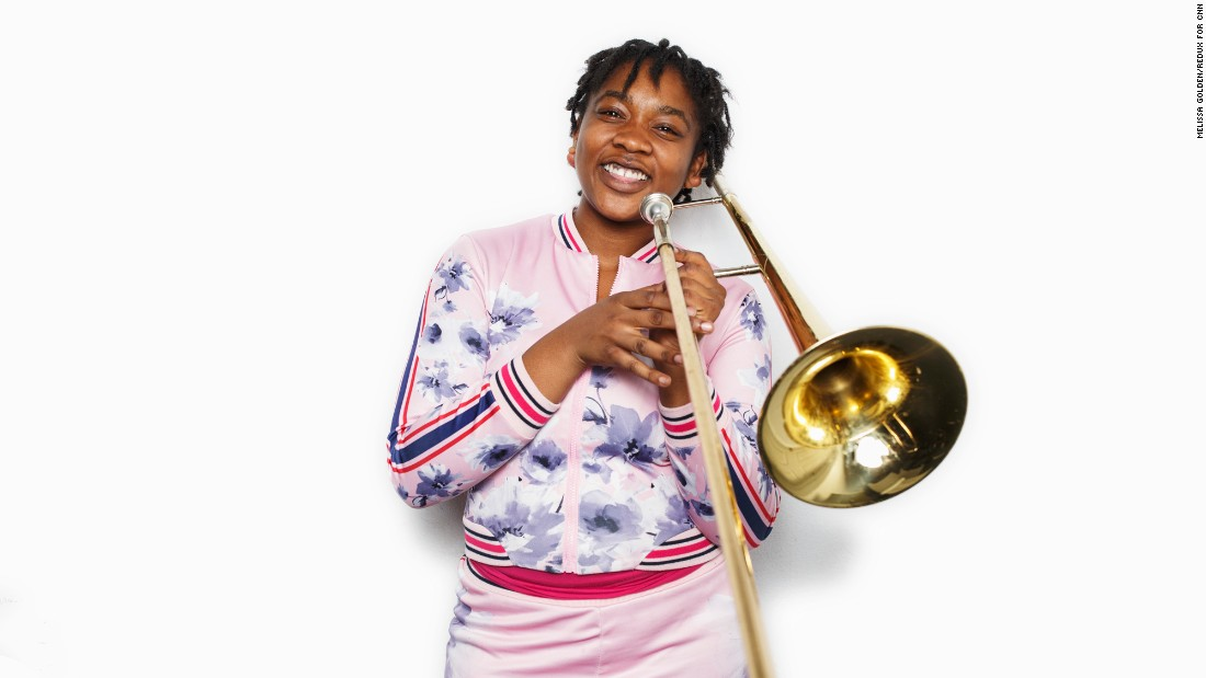 """Bigger and better things are coming our way."" -- Tequila Anderson (junior, trombone)"