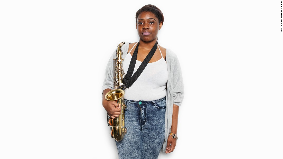 """I could tell my kids further down the line that we did something great even though people felt like we shouldn't go."" -- Eriel House (senior, saxophone)"