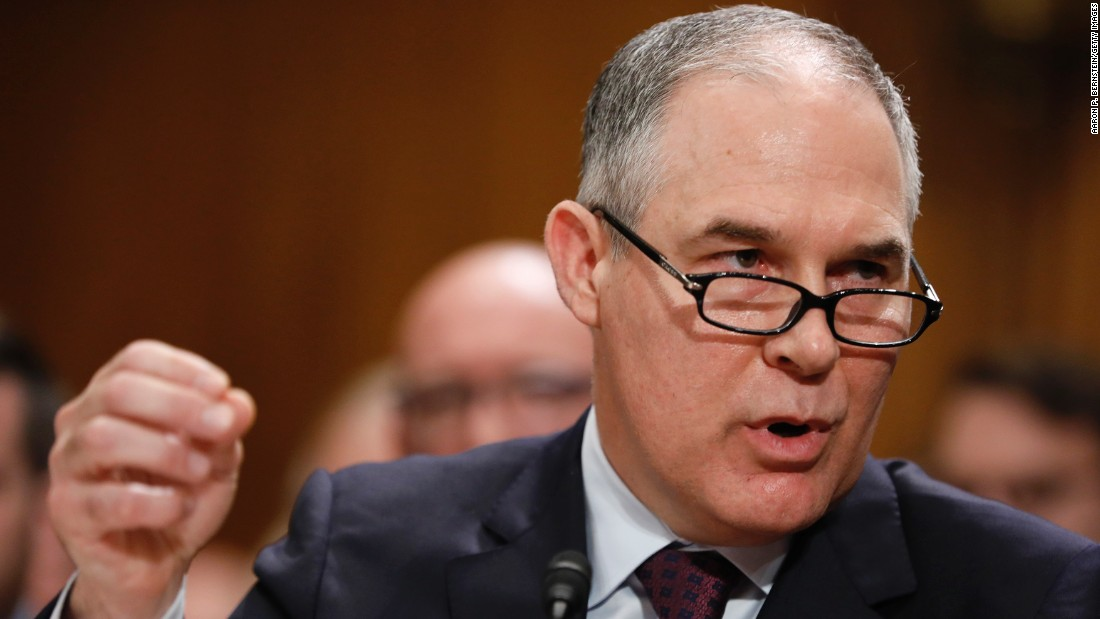 photo image Senate set to confirm EPA nominee Scott Pruitt