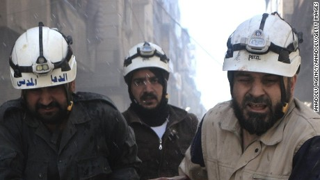 The White Helmets: 'The most dangerous job in the world'