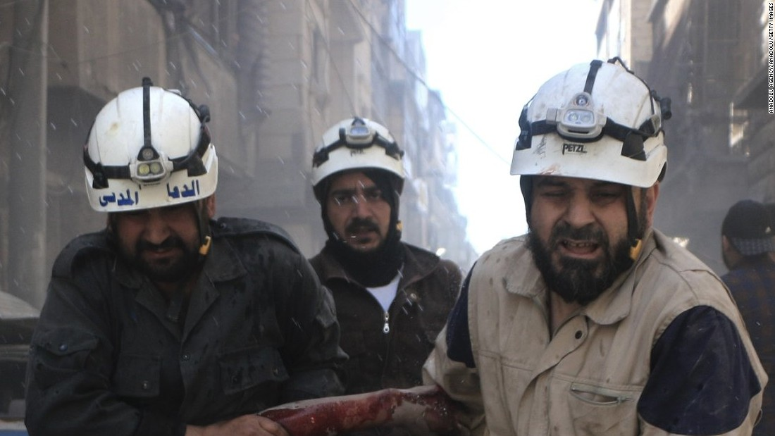 """Being a White Helmet is Syria has been called the most dangerous job in the world,"" says <a href=""http://edition.cnn.com/profiles/hala-gorani-profile"" target=""_blank"">Hala Gorani</a>. ""There is nothing more dangerous than running towards a building that has become a pile of rubble."" <br /><br />Formed late 2012, the White Helmets began training as a 25-strong unit, working for a small stipend of $150 a month. Twenty-five men have become 3,000, but not without losses -- 145 have been killed in the line of duty and 500 injured, says Gorani.<br /><br />""They are making a difference, they've potentially saved tens of thousands of lives,"" says the CNN host. ""It would be very easy for them not to do it, and yet they do it. I think that's real bravery.""<br /><br /><a href=""/2017/01/19/health/my-hero-hala-gorani-white-helmets-syria/index.html"" target=""_blank"">Discover more about The White Helmets.</a>"