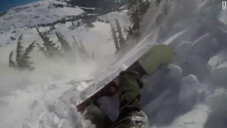 tom oye snowboarder avalanche 2
