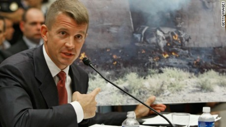 Erik Prince, who founded Blackwater.