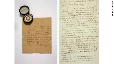 Hamilton letters auction