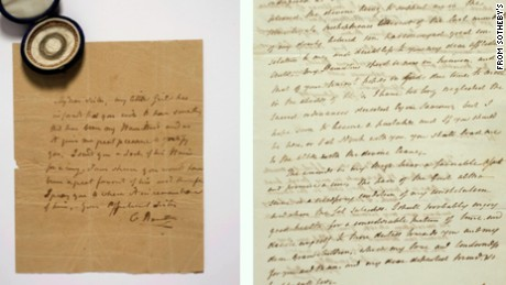 Hamilton letters auction