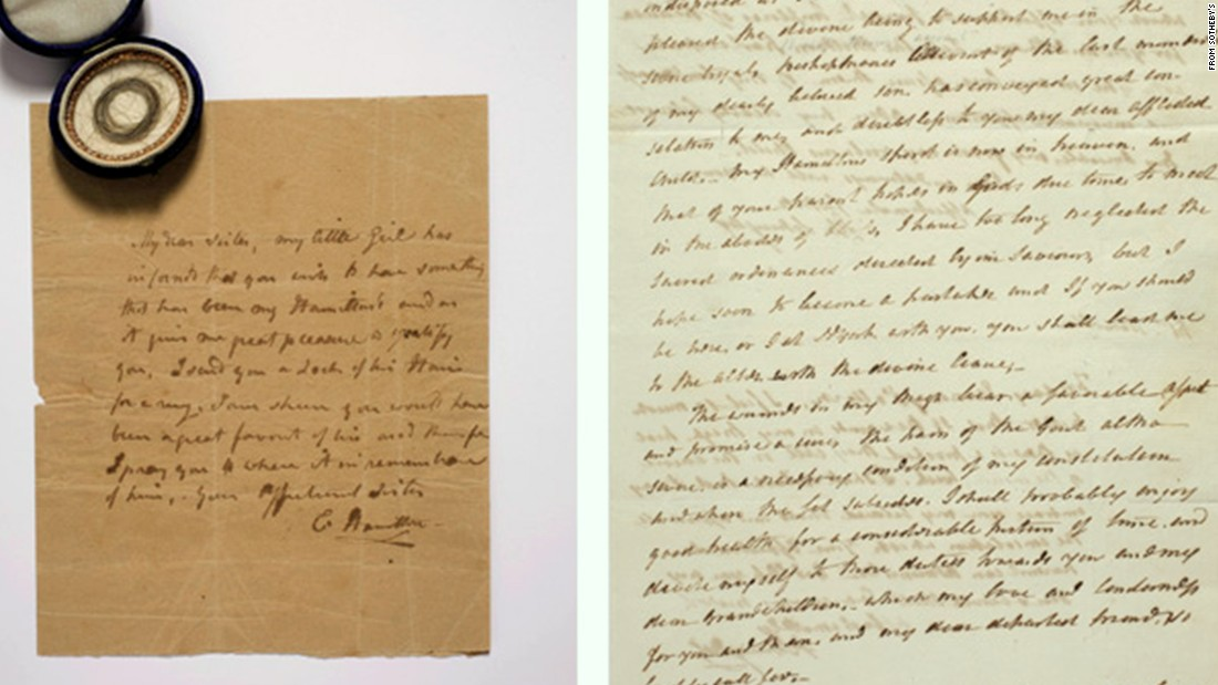 alexander hamiltons letters sell for 26 million at auction cnncom