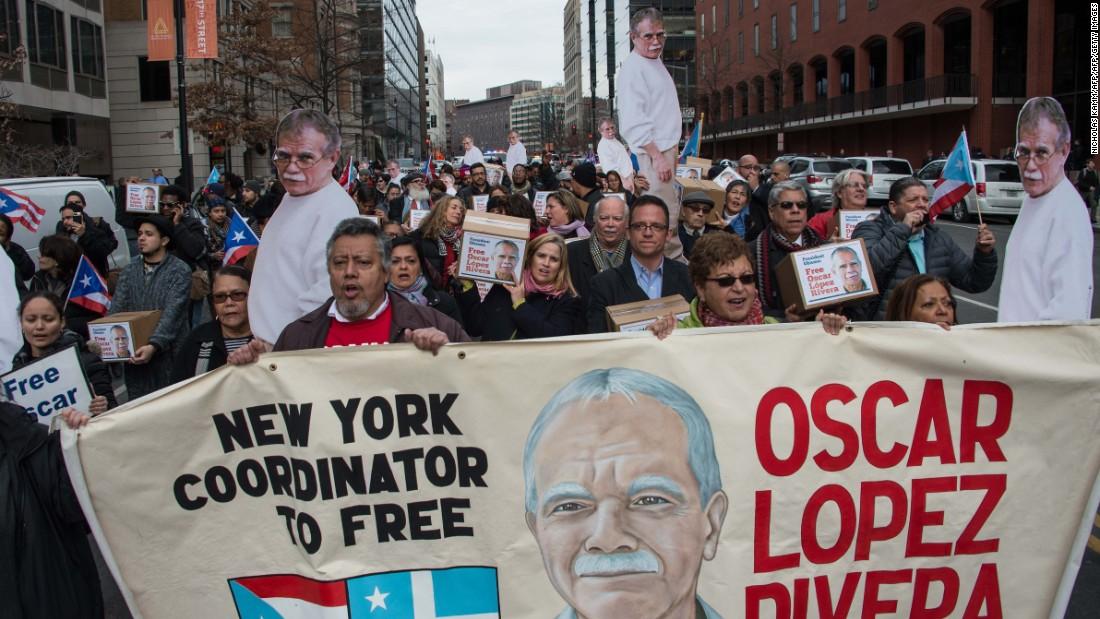 Obama commutes FALN member Oscar López Rivera's prison sentence