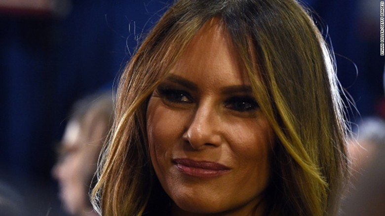 Trump: Melania will be a fantastic first lady