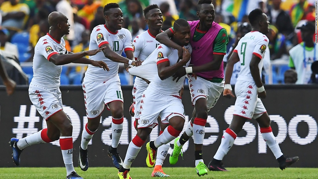 The Stallions have never won the Africa Cup of Nations and, though they did reach the final in 2013, it appeared a shock could be on the cards.