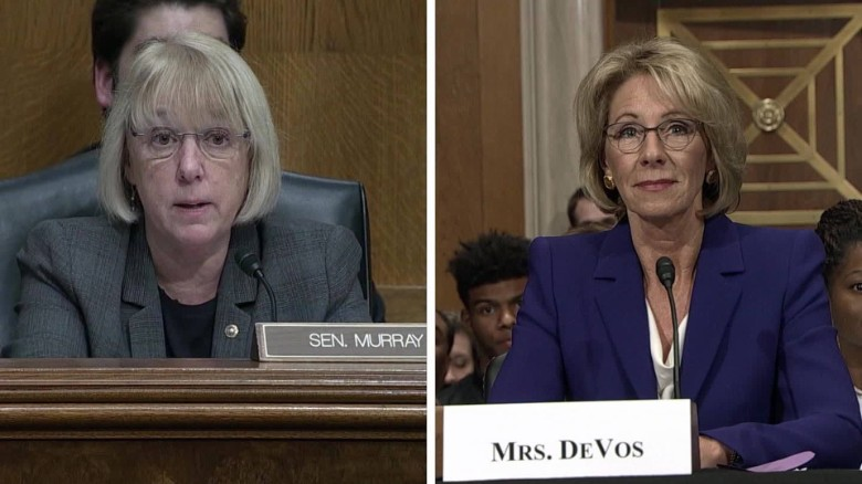 Democrats challenge Trump's education pick ORIG TC _00001201