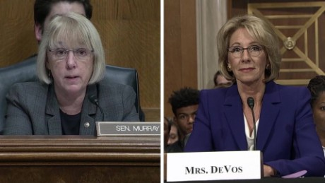 Democrats challenge Trump's education pick