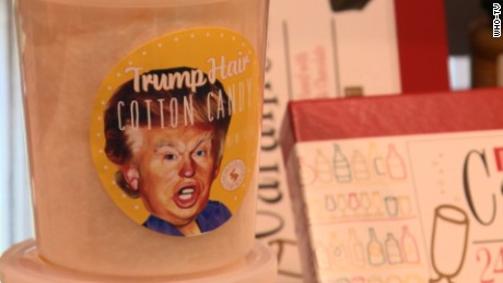 Trump candy hair