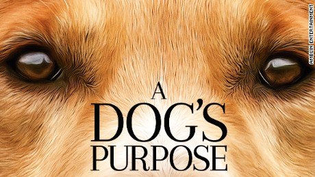 A poster for Universal Pictures' 'A Dog's Purpose.'