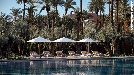 Le Jardin is the newest addition to the Royal Mansour property.