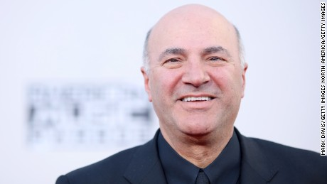 LOS ANGELES, CA - NOVEMBER 22:  Entrepreneur Kevin O'Leary attends the 2015 American Music Awards at Microsoft Theater on November 22, 2015 in Los Angeles, California.  (Photo by Mark Davis/Getty Images)