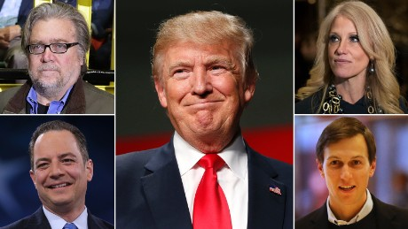 5 way split trump rivals