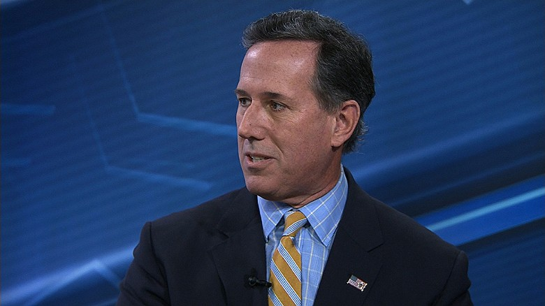 Santorum denies Russia to blame for DNC hack