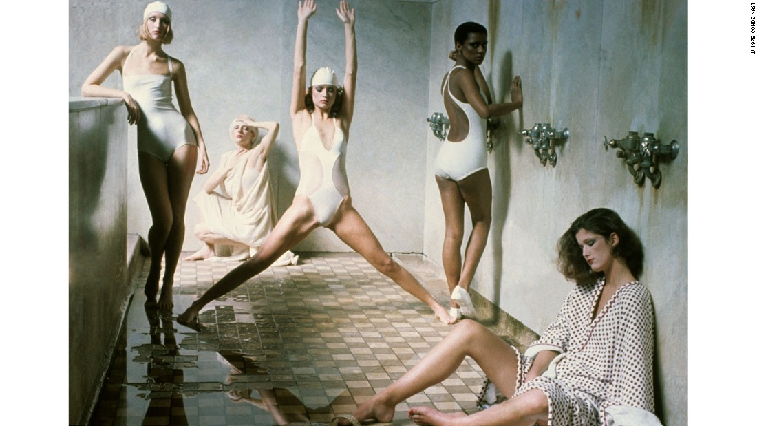 This shot by Deborah Turbeville was part of a controversial series. Many subscribers canceled their magazine orders, outraged by the alleged lewdness of her photos.<br />
