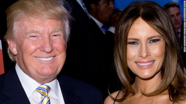 How Melania Trump met the 45th President
