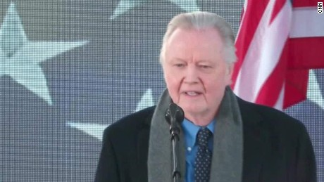 Jon Voight at the inauguration concert