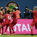 tunisia celebrate afcon