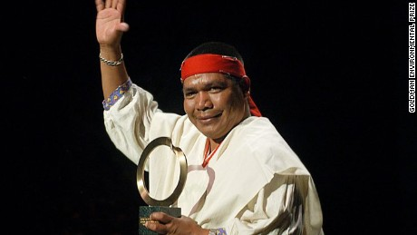 Isidro Baldenegro was the community lead of Mexico's indigenous Tarahumara people.