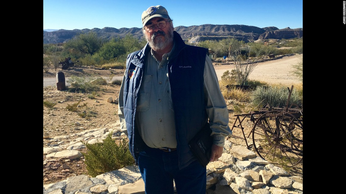 "Marcos Paredes has lived near Terlingua, Texas -- a former ""ghost town"" --  for much of his life. He spent years as a law enforcement officer responsible for patrolling the Rio Grande. ""To come up with a one-sized fits all solution for illegal immigration is crazy,"" Paredes told CNN.   ""Because the border is so different along its entire links."""