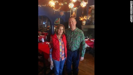 Alicia and Chris Martin own La Roca restaurant in Nogales, Mexico.