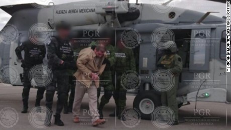 "Drug kingpin Joaquin ""El Chapo"" Guzman, who became a legend in Mexico through his prison escapes and years of staying just ahead of the law, has been extradited and transported to the United States."