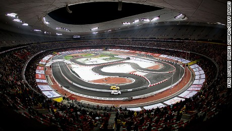 Some of the world's most famous stadiums have hosted the Race of Champions including Beijing's Bird's Nest -- home to the 2008 Summer Olympics.