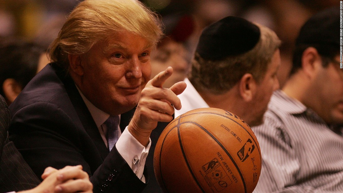 "Trump has been to several NBA games, but has faced criticism from some players and coaches in the league since his election. LeBron James decided not to stay at a Trump-branded hotel in New York on a recent visit to play the Knicks. ""It's just my personal preference, I'm not trying to make a statement,"" the basketball star said when quizzed by reporters."