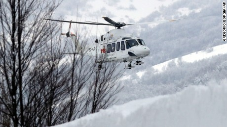 Rescuers find 6 survivors in Italy avalanche hotel