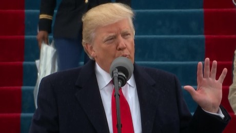 Donald Trump's entire inaugural address