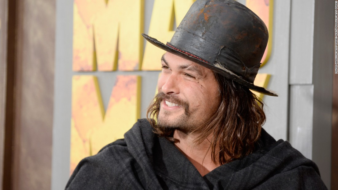 Jason Momoa: One Of The Toughest Actors In The Business Is A Big Softie