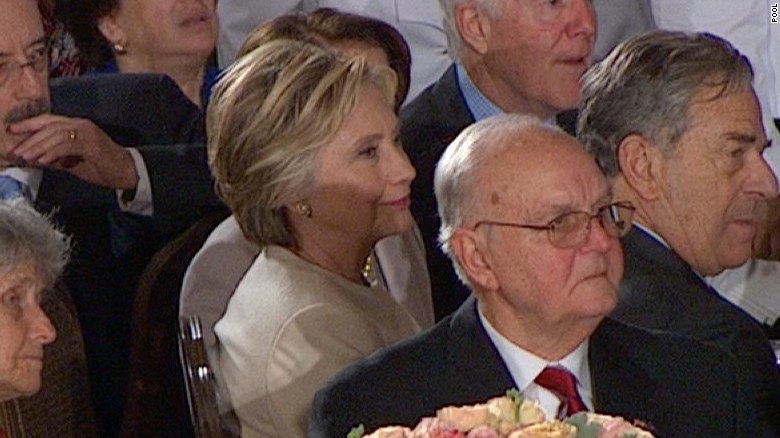hillary clinton donald trump luncheon inauguration
