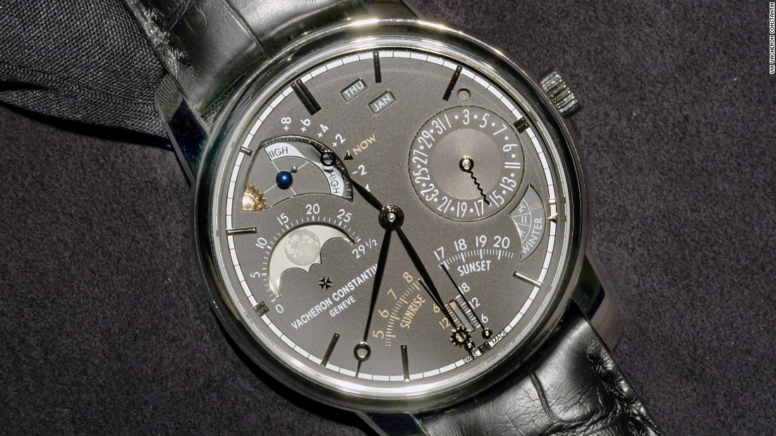 """This incredible 45mm wristwatch <a href=""https://www.hodinkee.com/articles/vacheron-constantin-les-cabinotiers-celestia-astronomical-grand-complication-introducing"" target=""_blank"">holds</a> 23 complications, and is arguably the most precise and detailed calendar and astronomy wristwatch in the world. What's more, it's actually wearable! This is a marked shift away from complications for complications sake, and tells everyone else the wearability is a must."" -- Benjamin Clymer"