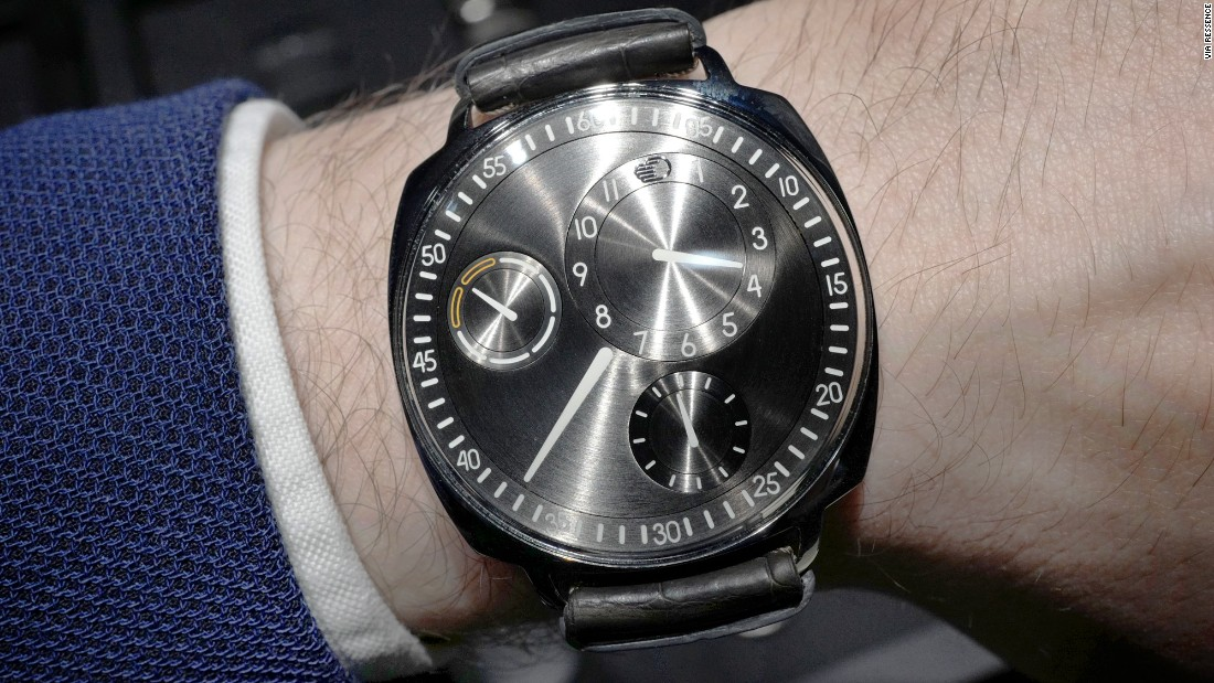 """The mad horological scientists at <a href=""https://www.hodinkee.com/articles/ressence-type-1-squared-introducing-2"" target=""_blank"">Ressence</a> created a unique way of showing the time with orbital time displays that move within one another. This latest version of the brand's original watch, the Type 1, has a dressier, more traditional case that should get more people interested in what is one of the most unique watchmakers of the modern era."" -- Stephen Pulvirent"