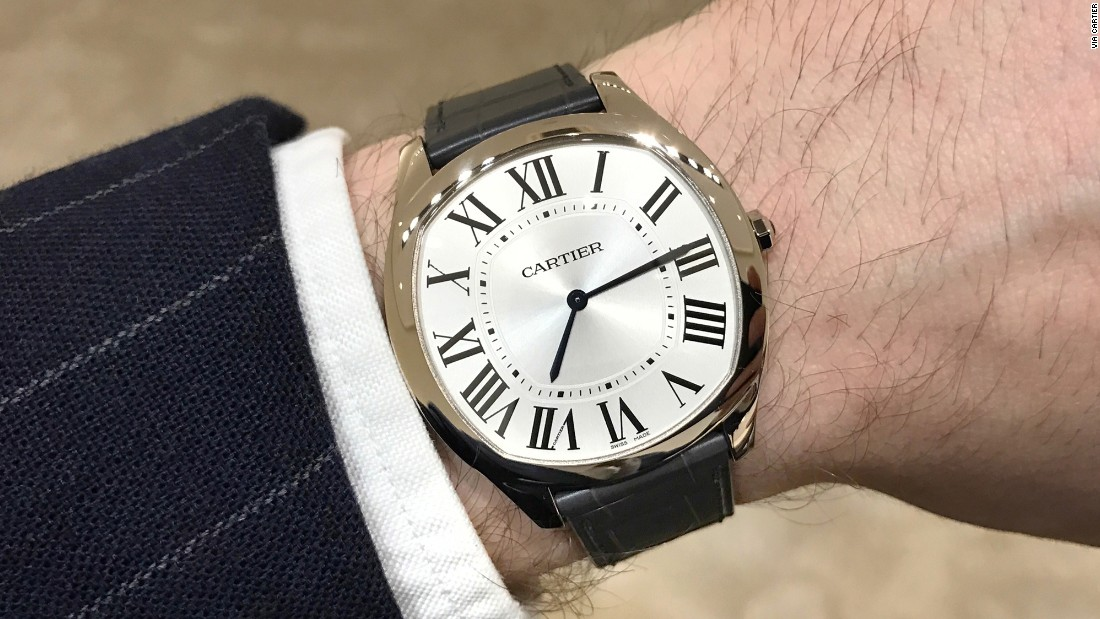 """Everything good about the <a href=""https://www.hodinkee.com/articles/cartier-drive-extra-flat-introducing"" target=""_blank"">Drive</a>, Cartier made even better this year. By eliminating the date, trimming the case profile, and presenting it in a gold case (white or rose), the brand has turned this into the ultimate dress watch. Young guys now have a modern Cartier dress watch to which they can truly aspire."" -- Arthur Touchot"