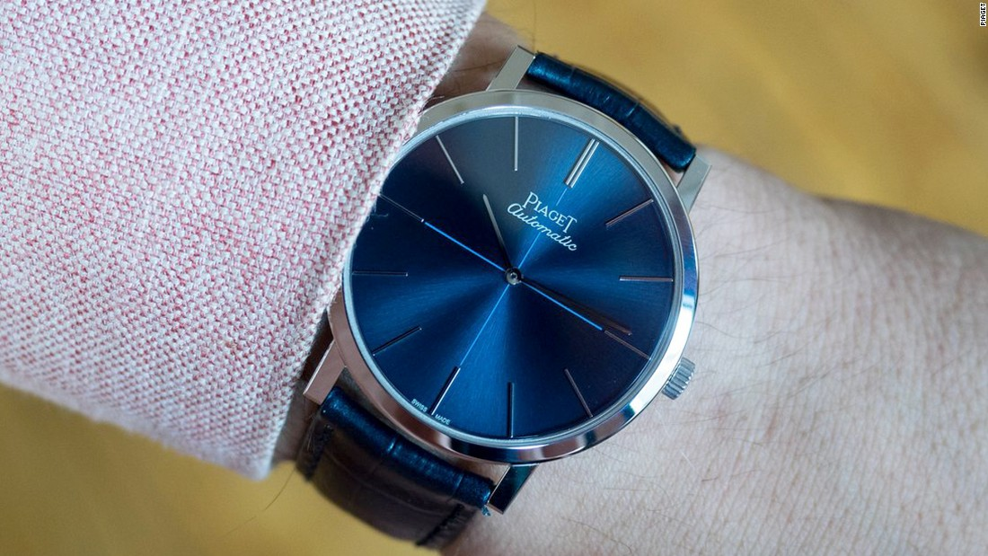 """The 38mm Altiplano with a bright blue dial might have been an expected play by Piaget for the 60th anniversary of the Altiplano collection, but it did not disappoint one bit. It's thin, elegant, and sexy, all while adding a new shade to the current line-up of ultra-thin dress watches."" -- Louis Westphalen"